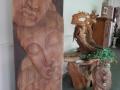 Houtsculpturen - Kunstgalerij Rogghe