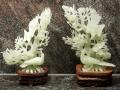 Jade sculpturen - Kunstgalerij Rogghe